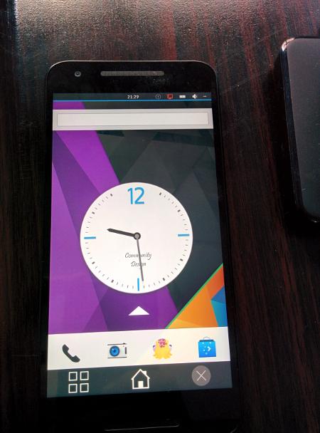 Plasma on Nexus 5X