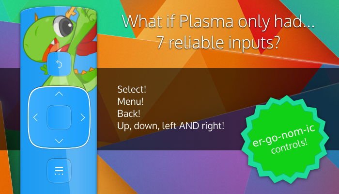 What if Plasma Had just 7 inputs